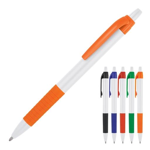 Zoey White Ballpoint Pen